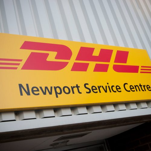 DHL Newport - Panel Sign