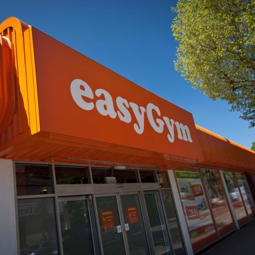 easyGym - Illuminated Flex Face Sign